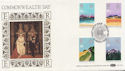 1983-03-09 Commonwealth Day Stamps London SW FDC (57680)