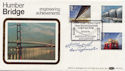 1983-05-25 Engineering Stamps Humber Bridge Signed FDC (57687)
