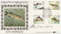 1983-01-26 River Fish Hythe Signed FDC (57691)