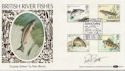 1983-01-26 River Fish Salmon Leap Signed FDC (57697)
