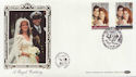1986-07-22 Royal Wedding Stamps Dummer FDC (57701)