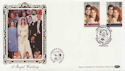 1986-07-22 Royal Wedding Stamps Dummer FDC (57710)