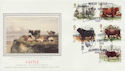 1984-03-06 British Cattle Stamps Ballynahinch FDC (57726)