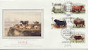 1984-03-06 British Cattle Stamps Earls Court SW6 FDC (57727)