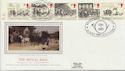 1984-07-31 Mailcoach Stamps Leicester Silk FDC (57731)