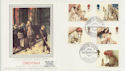 1984-11-20 Christmas Theatre Royal Stratford E15 FDC (57748)