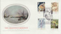 1984-06-26 Greenwich Meridian London EC4 FDC (57758)