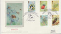 1985-03-12 Insect Stamps Hummer Silk FDC (57781)