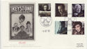 1985-10-08 British Films Stamps Luton FDC (57790)