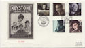1985-10-08 British Films Stamps Forces 2101 PS FDC (57791)