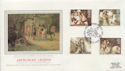 1985-09-03 Arthurian Legend Stamps Winchester FDC (57804)
