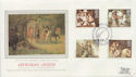 1985-09-03 Arthurian Legend Stamps Warminster FDC (57806)