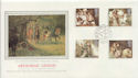 1985-09-03 Arthurian Legend Stamps Commons SW1 cds FDC (57808)