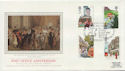 1985-07-30 Royal Mail 350th Bagshot FDC (57816)