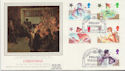1985-11-19 Christmas Stamps Drury Lane FDC (57852)