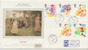 1988-03-22 Sports Stamps West Kensington CDS FDC (57880)