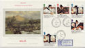 1988-03-01 Welsh Bible Stamps Penmachno cds FDC (57882)