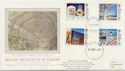 1987-05-12 Architects in Europe Stirling cds FDC (57887)