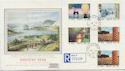 1986-01-14 Industry Year Stamps Bakewell cds FDC (57905)