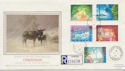1987-11-17 Christmas Stamps Nasareth cds FDC (57909)