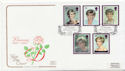 1998-02-03 Princess Diana Stamps Cardiff FDC (57972)