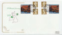 2004-03-16 A British Journey N Ireland Booklet FDC (57986)