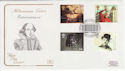 1999-06-01 Entertainers Tale Stamps London W1 FDC (57993)