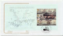 2005-10-18 Battle of Trafalgar Bklt Pane 4 FDC (58017)