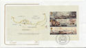2005-10-18 Battle of Trafalgar Bklt Pane 3 FDC (58018)