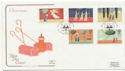 1996-10-28 Christmas Stamps Jesus College FDC (58068)