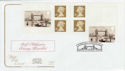 2002-09-10 Bridges of London Booklet FDC (58104)