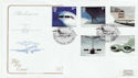 2002-05-02 Airliners Stamps Brooklands FDC (58111)