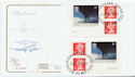 2002-05-02 Airliners Booklet Stamps Exeter FDC (58113)