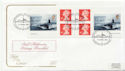 2001-04-17 Submarines Booklet Stamps Barrow FDC (58133)