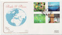 2000-06-06 People and Places Stamps London E14 FDC (58151)