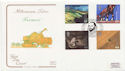 1999-09-07 Farmers Tale Stamps Budleigh FDC (58167)