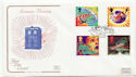 1995-06-06 Science Fiction Worlds End FDC (58181)