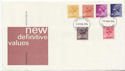 1976-02-25 Definitive Stamps Basingstoke FDC (58194)