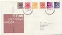 1976-02-25 Definitive Stamps Bureau FDC (58204)