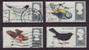 1966-08-08 British Birds Stamps Used Set (58242)