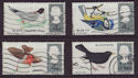1966-08-08 British Birds Stamps Used Set (58243)