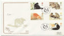 1995-01-17 Cats Stamps Catsfield FDC (58256)