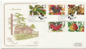 1993-09-14 Autumn Stamps Pear Tree FDC (58271)