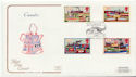 1993-07-20 Inland Waterways Ardrishaig FDC (58273)