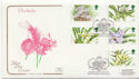 1993-03-16 Orchid Stamps Glasgow FDC (58276)