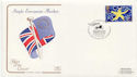 1992-10-13 European Market Stamp Edinburgh FDC (58281)