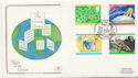 1992-09-15 Green Issue Brownsea Island FDC (58282)