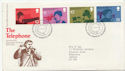 1976-03-10 The Telephone BUREAU FDC (58304)