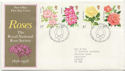 1976-06-30 Roses Stamps Bureau FDC (58306)