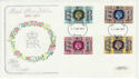 1977-05-11 Silver Jubilee Stamps Bristol FDC (58417)